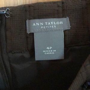 Ann Taylor Dresses - Ann Taylor brown & White tank dress. 4P